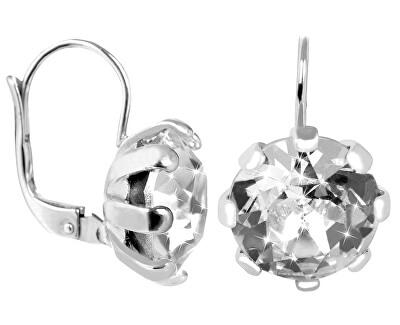 Stříbrné náušnice s krystalem 438 001 01769 04 - 4,42 g