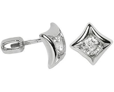 Stříbrné náušnice s krystaly 436 001 00236 04