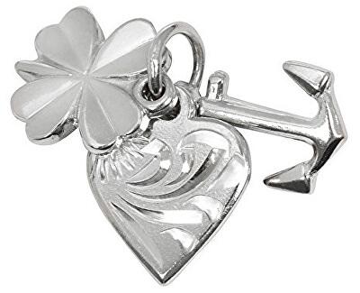 Stříbrný přívěsek láska, štěstí, naděje 441 001 00005 04