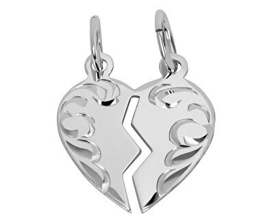 Stříbrný přívěsek pro páry 441 001 01480 04 - 0,90 g