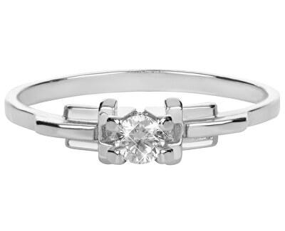 Brilio Silver Stříbrný zásnubní prsten 426 001 00499 04 - 1,25 g