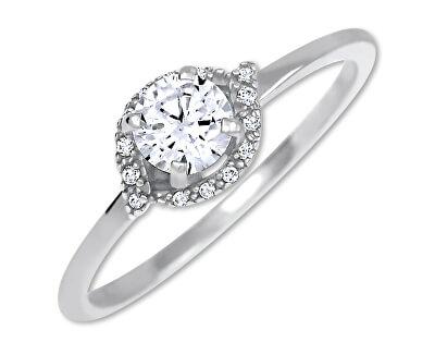 Stříbrný zásnubní prsten 426 001 00531 04