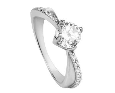 Stříbrný zásnubní prsten 426 001 00533 04