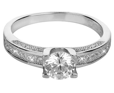 Brilio Silver Stříbrný zásnubní prsten 426 158 00096 04 - 2,55 g
