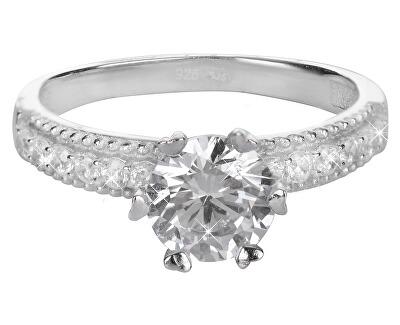 Brilio Silver Stříbrný zásnubní prsten 426 158 00100 04 - 2,75 g