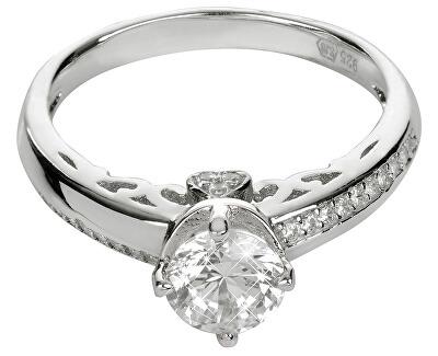 Brilio Silver Stříbrný zásnubní prsten 426 158 00106 04 - 2,77 g
