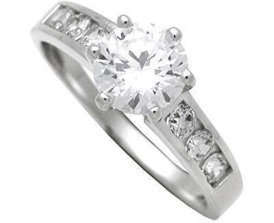 Brilio Silver Stříbrný zásnubní prsten 7111044