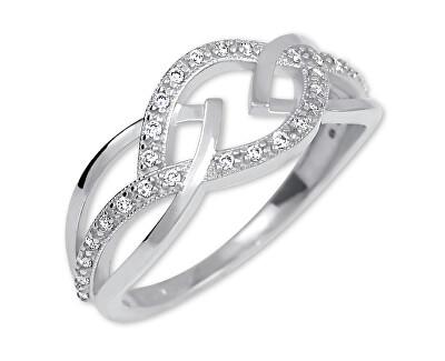 Úchvatný stříbrný prsten 426 001 00532 04