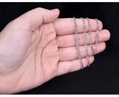 Stříbrný řetízek Figaro 50 cm 471 086 00161 04