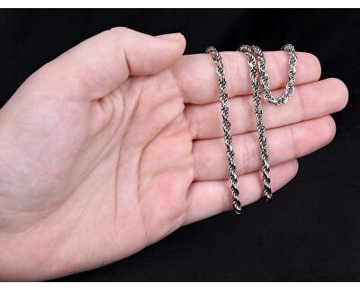 Stříbrný řetízek Lambáda 42 cm 471 086 00144 04 - 14,37 g
