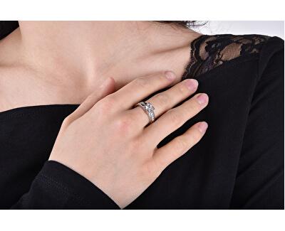 Stříbrný zásnubní prsten 426 001 00416 04