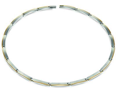 Dámský bicolor náhrdelník z titanu 08028-02