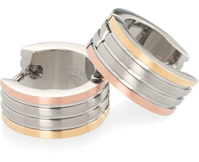 Pozlacené titanové kruhy 0592-02
