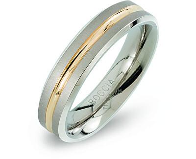 Snubný titánový prsteň 0144-02