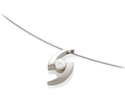 Boccia Titanium Titanový přívěsek s perlou 0772-01