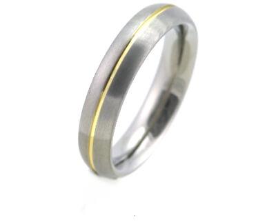 Titánový snubný prsteň 0130-02