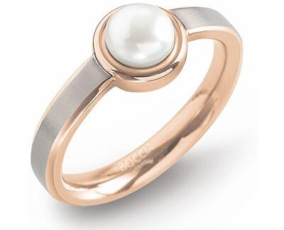 Boccia Titanium Titanový prsten s perlou 0137-02