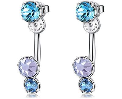 Dvojité náušnice s krystaly Affinity BFF73