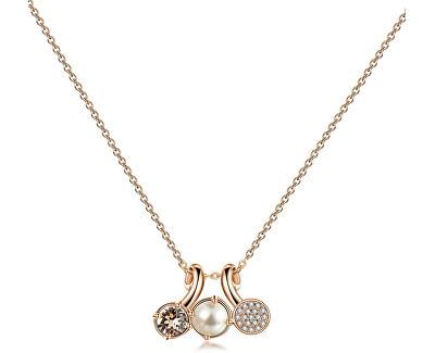 Nádherný bronzový náhrdelník Affinity BFF70
