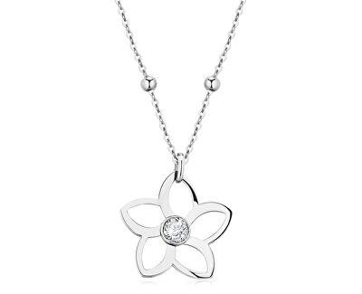 Ocelový náhrdelník Ikebana BKE01
