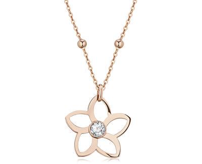 Ocelový náhrdelník Ikebana BKE02