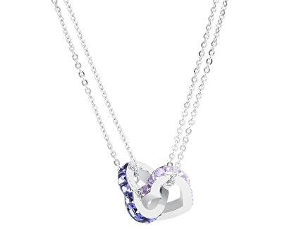 Brosway Oceľový náhrdelník Romeo & Juliet BRJ08