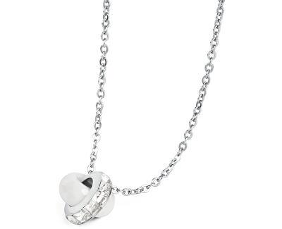 Brosway Oceľový náhrdelník Romeo & Juliet BRJ44