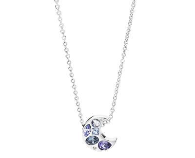 Oceľový náhrdelník s mesiacom Sparks BKR02