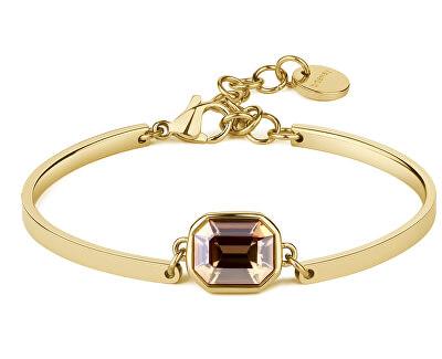 Brățară din oțel Gold Crystal Chakra BHK76