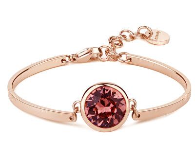 Brățară din oțel Pink Crystal Chakra BHK74