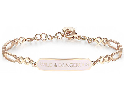 Ocelový náramek Wild & Dangerous Chakra BHK343