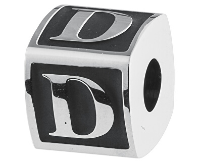 Brosway Ocelový přívěsek Alphabet D TJ Man BTJN47