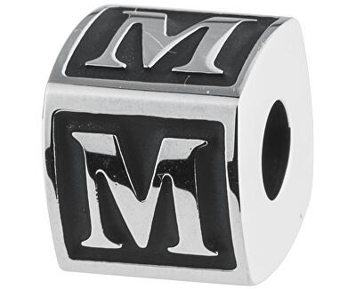 Oceľový prívesok Alphabet M TJ Man BTJN56