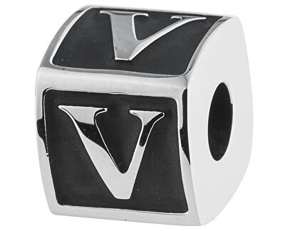 Oceľový prívesok Alphabet V TJ Man BTJN65