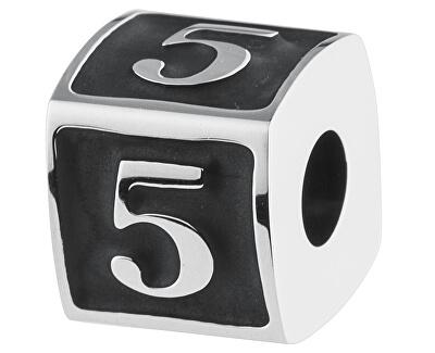 Oceľový prívesok Numbers 5 TJ Man BTJN74