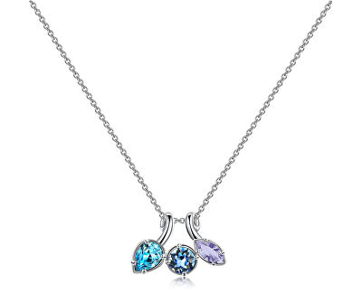 Pěkný náhrdelník s krystaly Affinity BFF68