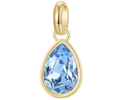 Pozlacený ocelový přívěsek s krystalem Très Jolie BTJM257