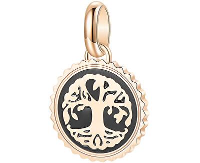Růžově zlacený ocelový přívěsek Strom života Très Jolie BTJM193