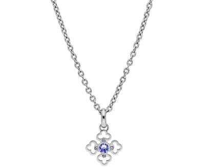 Stylový ocelový náhrdelník s krystaly Trés Jolie BTJMS691