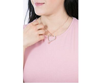 Náhrdelník se srdcem Ribbon Mini BBN08