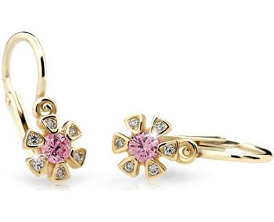 Cutie Jewellery Detské náušnice C2156-10-X-1