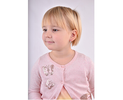 Dětské náušnice z bílého zlata C2213-10-X-2