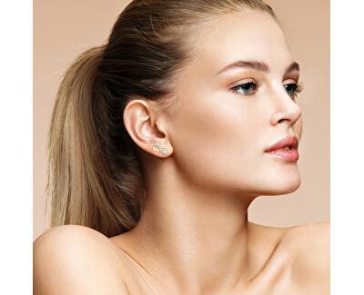 Glänzende Ohrringe in der Form von Unendlichkeit Z60419-30-X-1