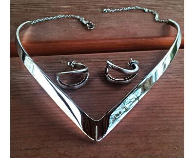 Luxusný bronzový náhrdelník Outline KJ6VPJ100100