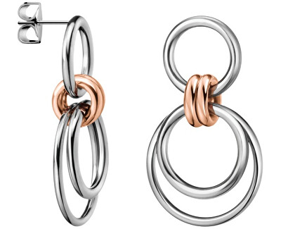 Calvin Klein Cercei din oțel bicolorNimble KJ5HME200100