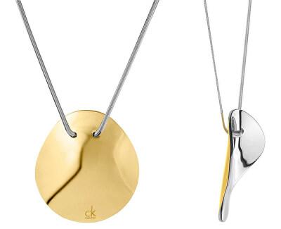 Bicolor ocelový náhrdelník Undulate KJ1AJP200100