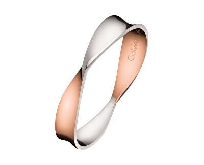 Calvin Klein Bicolor prsten Supple KJ7SPR2001
