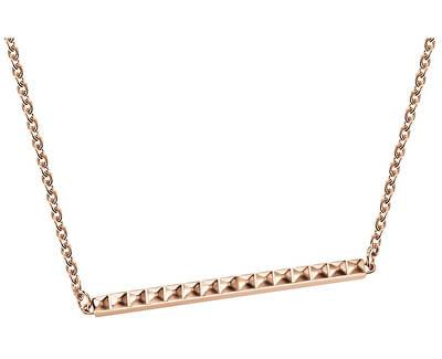 Bronzový ocelový náhrdelník Edge KJ3CPP100200