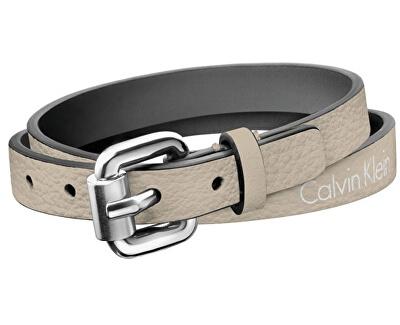 Calvin Klein Dvojitý kožený náramok Adventure KJ5NTB79010