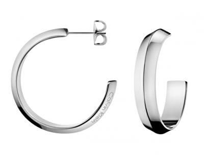 Luxusní náušnice půlkruhy Shape KJ4TME000100